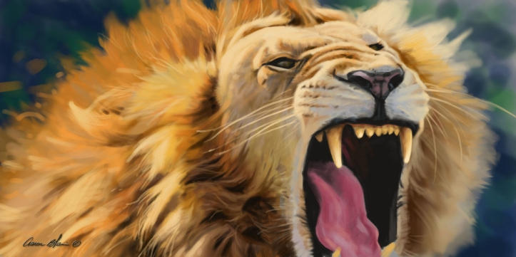aaron-blaise-lion-first-digital-painting