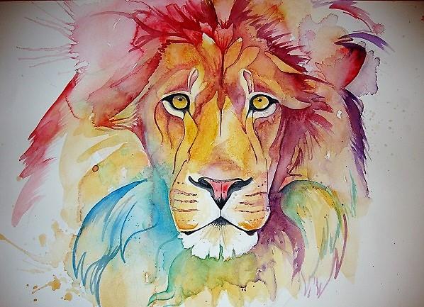 rainbow_lion_by_laura-slade