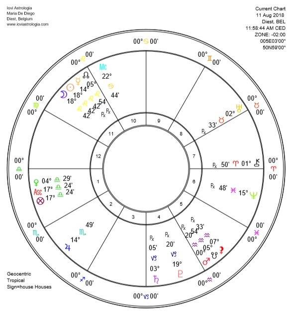 New Moon in Leo 2018